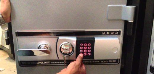 Làm chìa khóa két sắt tại nhà