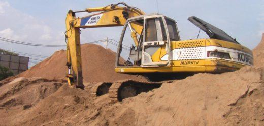 Phân biệt cát đổ bê tông và cát san lấp