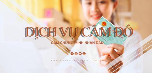 Cầm chứng minh nhân dân thành phố Hồ Chí Minh