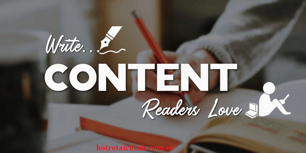 giá viết content