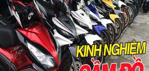 Kinh nghiệm về cầm đồ xe máy giải quyết khó khăn